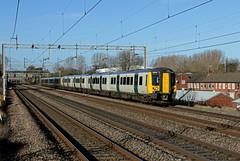 350123 350124 Mancetter (CD Sansome) Tags: mancetter wcml west coast main line train trains desiro 350 350123 350124 london north western railway lnwr northwestern abellio