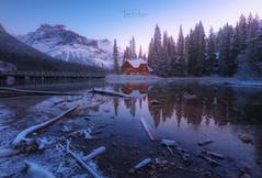 Emerald Lake (Toni_pb) Tags: rockies canada canadianrockies nikon 1424 d850 landscape colors nature winter snow banff alberta emeraldlake