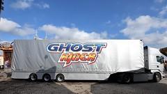 D - Löffelhardt >Ghost Rider< Scania R TL (BonsaiTruck) Tags: löffelhardt ghost rider scania schausteller jahrmarkt