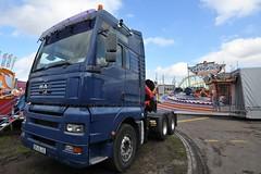 D - Löffelhardt >Ghost Rider< MAN TGA XXL (BonsaiTruck) Tags: löffelhardt ghost rider man tga schausteller jahrmarkt lkw lastwagen truck lorry fairground