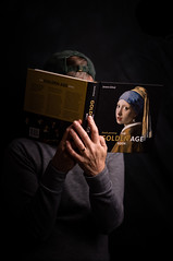 Woman Reading (runrgrl661) Tags: project366 day18 selfportrait vermeer inspiration dutchmasters