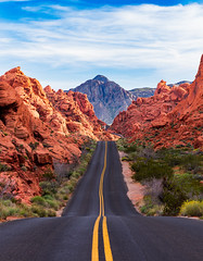 Valley of Fire (Dino Sokocevic) Tags: nationalpark nature landscape clouds sunset nikon southwest west desert
