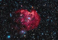 NGC2175 (teredura58) Tags: astrofotografia astrophotography ngc2175 alava sony a7 rc6 ioptron astrometrydotnet:id=nova3879498 astrometrydotnet:status=solved