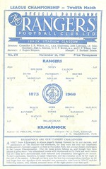 Rangers v Kilmarnock 19601126 (tcbuzz) Tags: rangers football club ibrox stadium scotland scottish league cup programme