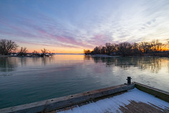 Sunrise at the Government Wharf | Point Traverse | Prince Edward County | Ontario | Canada (Paul B Jones) Tags: governmentwharf pointtraverse princeedwardcounty ontario canada sunrise dawn landscape quinte efm1122mm canon eosm6 lakeontario pointtraverselighthouse daybreak