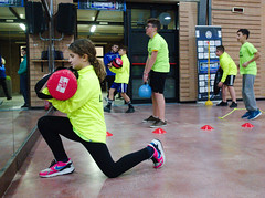 7824 - Sagittal thrust (Diego Rosato) Tags: boxe boxing pugilato boxelatina fuji x30 rawtherapee training allenamento little boxer piccolo pugile sagittal thrust affondo sagittale