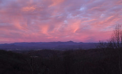 The Sky was the Star (csnyder103) Tags: sunrise color blueridge appalachians pink westernnorthcarolina pisgahridge canoneos6d canonef24105mmf4lisusm morning