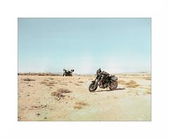 (XavierG44) Tags: bardenas pentax 6x7 argentique film 120 mf outside moto xsr700 yamaha