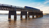 Crossing the Tay railway bridge