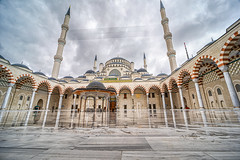 Çamlıca Masjid (vvangelovski) Tags: mosque hdr exterior architecture
