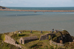 Photo of Fishguard Fort. Wales