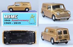 SPO-210-Mini-Van-MSMC (adrianz toyz) Tags: spoton toy model car 142 210 msmc whitemetal copy maidenheadstaticmodelclub christmas adrianztoyz diecast scale 2019 minivan mini van bmc blmc morris