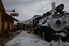Colorado Railroad Museum - Golden, Colorado (Simon Foot) Tags: november steam rp usa railroad museum golden colorado canoneosrp trains canon 2019 fall snow autumn