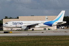 A320.HC-CPB (Airliners) Tags: tame 320 a320 a320233 airbus airbus320 airbusa320233 ecuadorlovelife sticker fll hccpb 122719
