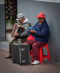 The musicians (blokfam9739) Tags: adult ecuador people peopleandculture quito southamerica streetphotography