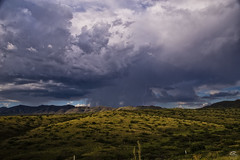Monsoon (Steven Maguire Photography) Tags: monsoon mountians arizona cochisecounty clouds lightning landscape southwest skyscape