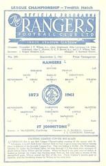 Rangers v St. Johnstone 19611202 (tcbuzz) Tags: rangers football club ibrox stadium scotland scottish league cup programme