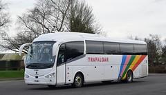 F11LNE  (YN17ONX)  West Coast Motors (highlandreiver) Tags: west gretna f11 lne f11lne bus green coast coach motors coaches irizar i6