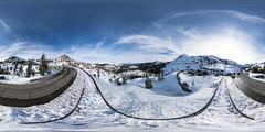 Donner Pass View Point (lsalcedo) Tags: donnerlake donnerpass viewpoint 360 panorama equirectangular ricohthetaz1