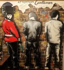 Bell Ends (R~P~M) Tags: art graffiti pub publichouse cromford derbys derbyshire england uk unitedkingdom greatbritain