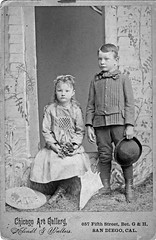 Little Lee and Arley (flalara) Tags: vintage antique portrait children