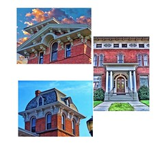 Hartford Connecticut  - Coltsville National Park - (Onasill ~ Bill Badzo - New Format) Tags: fairfield hartford litchfield middlesex county hartfordcounty ct conn connecticut coltsville national park supervisor house mansion james b wethersfields wethersfield queenanne victorian architecture style collage fragmental elizabeth buildings lost employees nrhp landmark onasill historic avenue tours travel tourist walking map mustsee unitedsates downtown nationalpark day taylorhouse portico door sky clouds