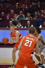 BUDDY BOEHEIM (SneakinDeacon) Tags: hokies vatech vt virginiatech accbasketball collegebasketball syracuse orange