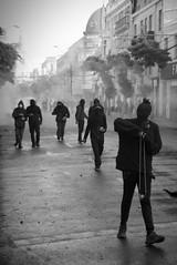 Piedra contra la bala (andresChac) Tags: protest protestas chile sudamerica street calles retratos portrait