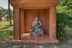 Shrine in Muang Boran (Ancient City) in Samut Phrakan, Thailand (UweBKK (α 77 on )) Tags: muang mueang boran open air museum garden park recreation education tradition culture heritage outdoors samut phrakan province bangkok thailand southeast asia sony alpha 77 slt dslr