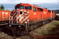 CP 9010, Marathon, ONT. 9-29-2007 (jackdk) Tags: train railroad railway roster locomotive locomotiveroster emd emdsd40 emdsd402 emdsd402f sd402f sd40 sd402 canadianpacific cp cpr canadianpacificrail cowl cowlunit cp9010 cpr9010 9010 jackmp2945 jackmp294 jack marathon marathonontario