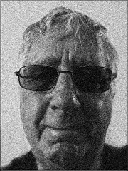 0333 Something grey (Andy - An idle laddy) Tags: selfportrait bw mezzotint textureish