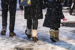 Celebrating Chief of Patrol Fausto Pichardo (nycmayorsoffice) Tags: pedestians boots boot snow weather newyork ny usa