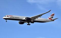 G-XWBC Airbus A350-1041 at CYYZ (yyzgvi) Tags: airbus a3501041 british airways cyyz yyz toronto pearson mississauga ontario gxwbc