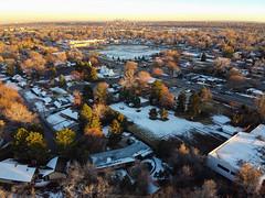Downtown Denver from Ralston-Central Park - Atvada (Simon Foot) Tags: downtowndenver aerialphotography november mavicmini dji mavic denver colorado outdoors quadcopter djimavicmini fall drone aerial autumn arvada unitedstatesofamerica