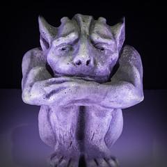 Gargoyle (Jack Heald) Tags: ceramic macromondays statue macro heald jack nikon d750 60mm micro nikkor gargoyle