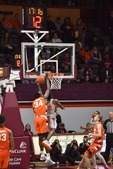 PLAYING AT THE RIM (SneakinDeacon) Tags: hokies vatech vt virginiatech accbasketball collegebasketball syracuse orange