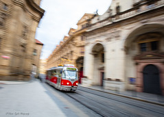 Ticket to Ride (Tracy Cannon Photos) Tags: prague europe tram transport slow motion longexposure panning canon 5ds travel street photography