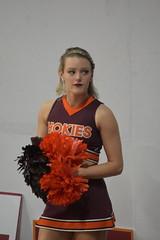 HOKIE CHEERLEADERS (SneakinDeacon) Tags: cheerleaders hokies vatech vt virginiatech accbasketball collegebasketball