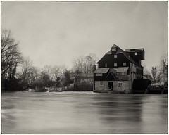 Houghton Mill (Linton Snapper) Tags: houghtonmill cambridgeshire nationaltrust nt rivergreatouse blackandwhite bw largeformat 5x4 film fomapan100 mppmicrotechnical lintonsnapper