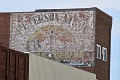 Peterson Music, Marshall, MN (Robby Virus) Tags: marshall mn minnesota ghost sign signage faded forgotten painted wall ad advertisement peterson pianos organs guitars amplifiers records