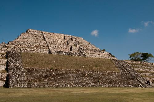 Xochicalco pyramid