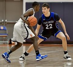 DSC_5309 (K.M. Klemencic) Tags: hudson high school boys basketball explorers ellet akron ohio ohsaa