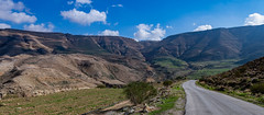 After the Rain, Wadi Al Wala, Madaba Governorate, Jordan (SW Roller) Tags: wadialwala madaba landscape road bluesky jordan d850 clouds canyon valley