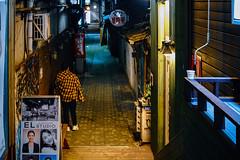 2301/1738 (june1777) Tags: snap street alley seoul night light bokeh sony a7ii industar 502 50mm f35 russian m42 5000 clear shinchon art4