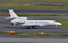 Concierge U, G-SPTX, Dassault Falcon 7X at HND (tokyo70) Tags: japan travel tour tokyo dassault 7x
