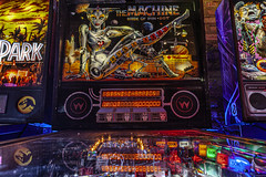 My God, she's alive! (jfre81) Tags: chicago emporium logan square video arcade pinball machine bride pinbot pin bot williams wms 1991 classic backbox backglass make me live sing feel like woman billionaire club 312 windy second city james fremont photography jfre81 canon rebel xs eos jurassic park ghostbusters