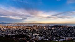 San Francisco View. (Axim2013) Tags: sanfrancisco california unitedstates us twinpeaks sky blue sony sonyilcea7m3 photo myphotoproject raykwa