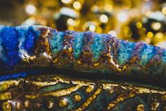 Fresh out of the kiln -- HMM! (Jessie T*) Tags: macromondays ceramic bowl bokeh pottery macrophotography