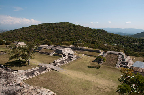 Ruins at Xochicalco