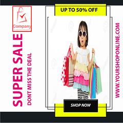 Super Sale Social Media post (mdabdussalamdesigner) Tags: super sale social media post